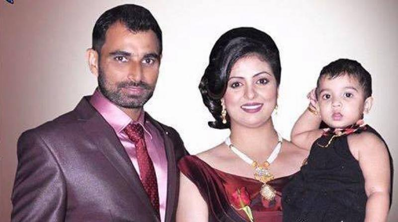 Mohammed Shami had posted a family photo on Facebook, drawing regressive responses from some of his followers, who said that his wife's attire was unislamic. (Photo: Facebook/Mohammed Shami)