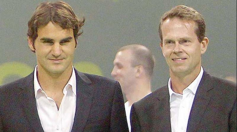 Tennis great Stefen Edberg says if anyone can go past Roger Federer's grand slam wins, it is Rafael Nadal.