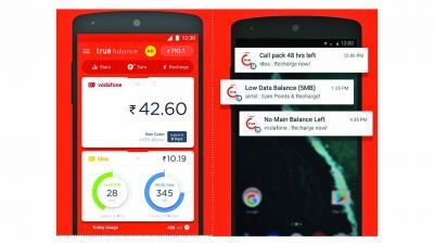 Keep track of phone balance