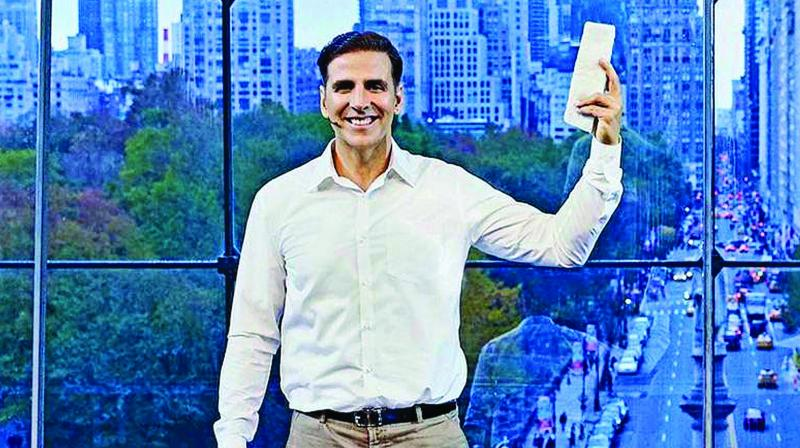 A still from the movie: Padman