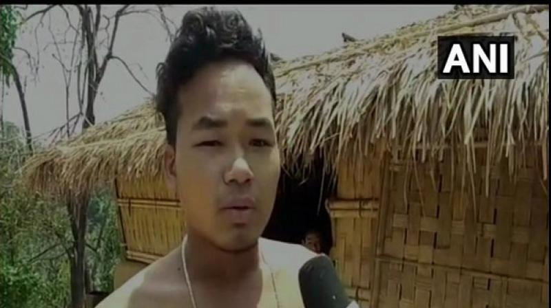 The villagers say that no doctor or government official has visited them so far. (Photo: ANI)
