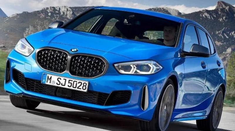BMW 1 Series will be available in four variants : Adventure Line, Luxury Line, Sport Line and M Sport.