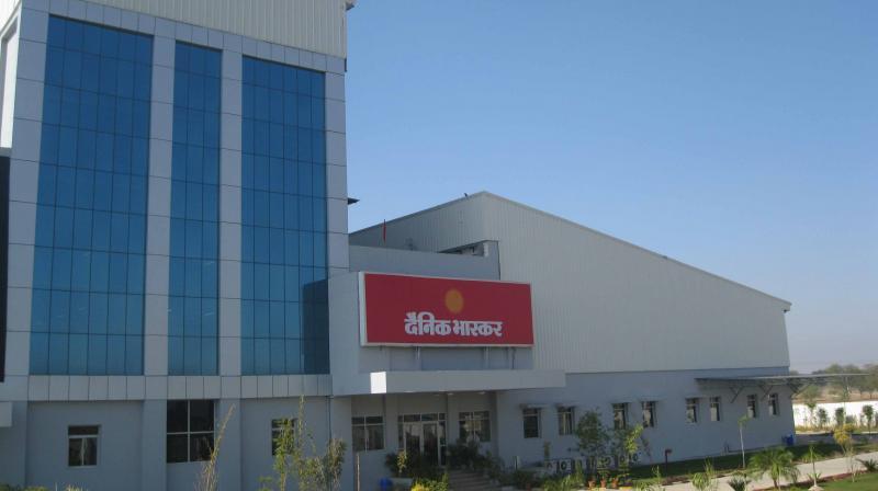 Dainik Bhaskar's Jaipur office. (Photo: DB Corp Ltd)