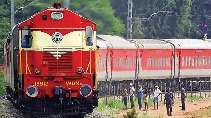 India's rail tracks, spanning over 1,25,000 km, happen to be the world's third largest.