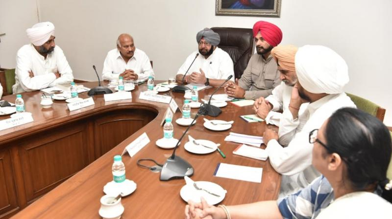 The drug peddling is destroying entire generations and it deserves exemplary punishment, said the Chief Minister. (Photo:  Twitter | @capt_amarinder)