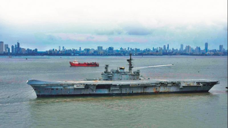 A file picture of INS Viraat