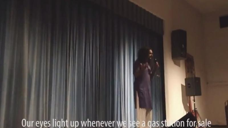 He was performing at the Indian cultural centre at University of Florida (Photo: Facebook)