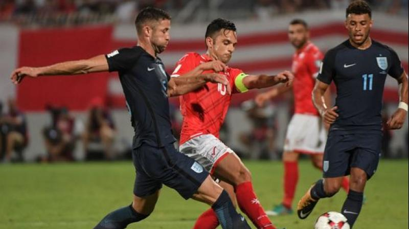 Two-time Indian Super League champion Chennaiyin FC on Tuesday announced the signing of 33-year old Maltese forward Andre Schembri on a free transfer ahead of the 2019-20 campaign. (Photo:AFP)