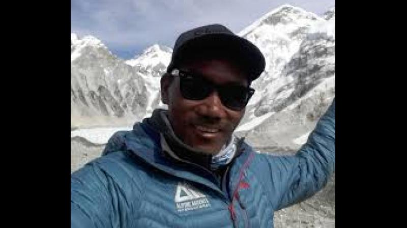 Kami and seven other Nepali's reached the top of Mount Everest on Tuesday. (Photo:AP)