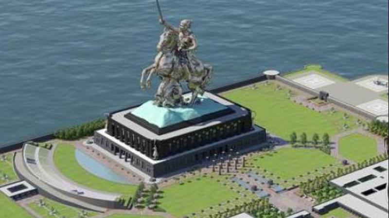 Chhatrapati Shivaji Maharaj Memorial in Mumbai. (Photo: Egis India)