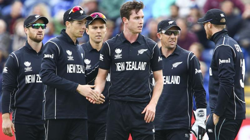 New Zealand was fined due to a slow over-rate during their match against England on Tuesday, which they eventually lost by 87 runs. (Photo: AFP)