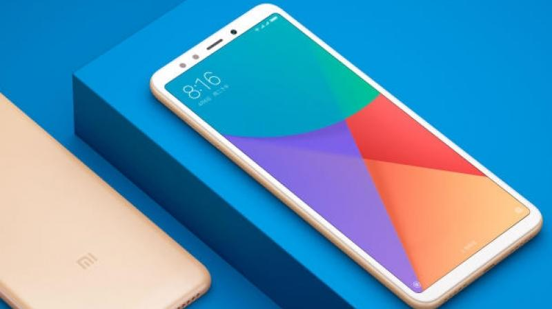 Redmi Note 5 is expected to be available within the price range of Rs 15,000 to Rs 18,000. (Representational Image: Xiaomi Redmi 5+)