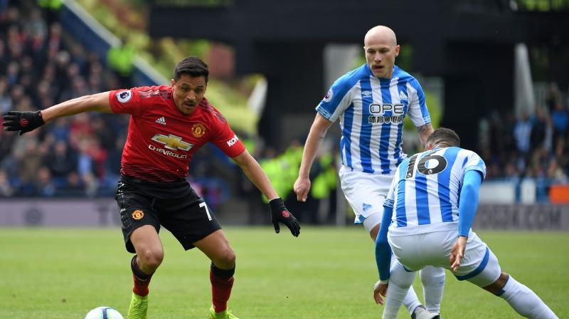 Alexis Sanchez, making his first United start since March 2, was replaced early in the second half, before Isaac Mbenza's first-ever Premier League goal got the hosts level on the hour mark following an error from Luke Shaw. (Photo: AFP)