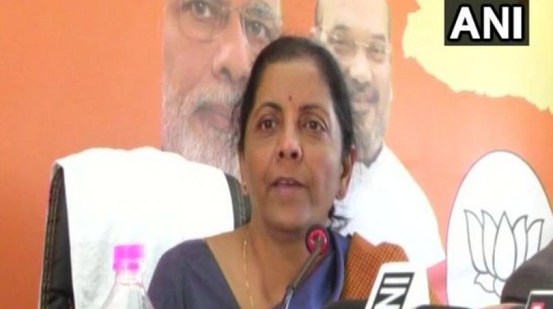 Citing rules, Sitharaman stated that Section 178(5) and 178(6) of the Companies Act. (Photo: ANI)