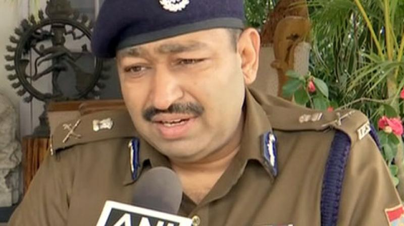 Uttarakhand DGP Ashok Kumar speaking to media on Sunday. On Saturday, the police had arrested a Kashmiri student in for allegedly making insensitive and communal posts on social media in the wake of the terror attack. (Photo: ANI)