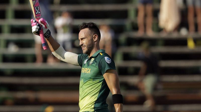 While 35-year-old Du Plessis is still the captain of the Test side, Nkwe gave enough indications that South Africa wants to infuse fresh blood going into next year's World T20 in Australia. (Photo: AP/PTI)