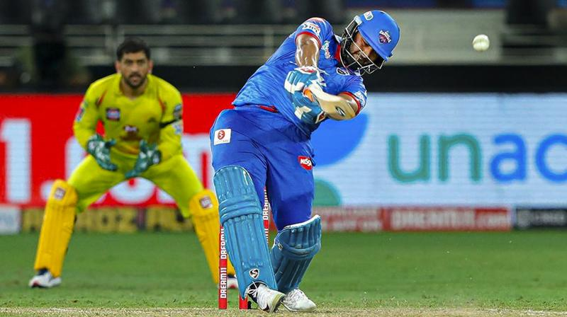 If there is Shubman Gill, Andre Russell and Eoin Morgan in one side, there is Rishabh Pant, Marcus Stoinis and Shreyas Iyer on the other end, all capable big-hitters and ever-ready to add to the whopping 62 sixes that has been hit on this ground in the two games held there so far. (Photo | PTI)