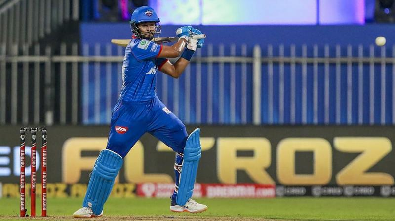 If the Powerplay belonged to Prithvi Shaw, who blazed his way to 66 off 41 balls with four boundaries and as many sixes, skipper Shreyas Iyer dominated the rest of the innings with his silken smooth batting as he scythed the opposition attack with seven fours and half a dozen sixes. (Photo | PTI)