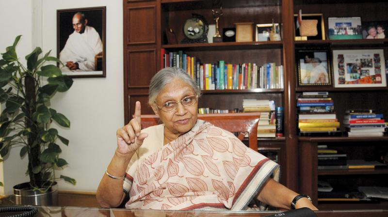 Sheila Dikshit (Photo: G.N. Jha)