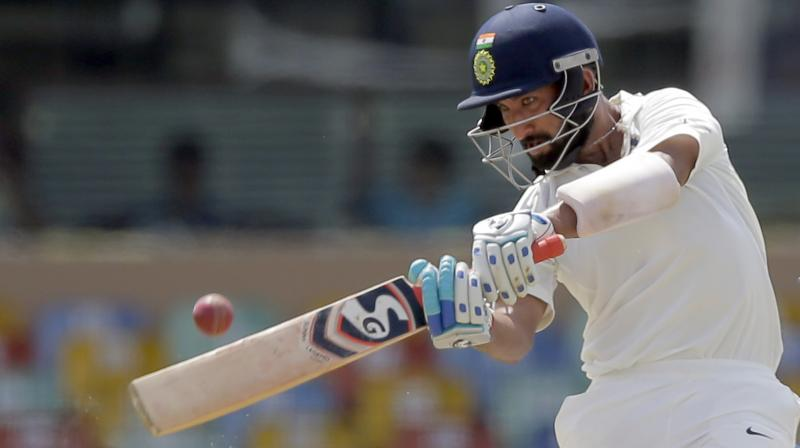 Cheteshwar Pujara said the pink ball could pose some problems during the twilight period. (Photo: AP)