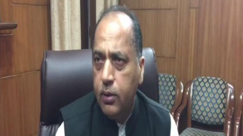 Himachal Pradesh Chief Minister Jai Ram Thakur. (Photo: ANI)