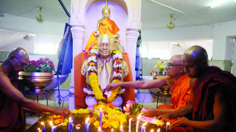Dr Babasaheb Ambedkar's birth anniversary will be observed in the country on Friday. (Photo: Rajesh Jadhav)