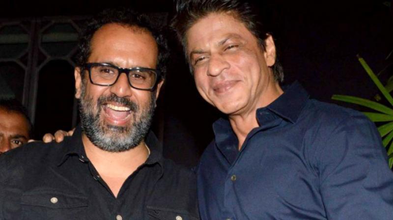 Aanand L Rai and Shah Rukh Khan.