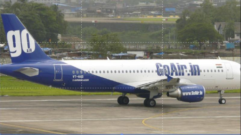 GoAir airlines. (Photo- PTI)