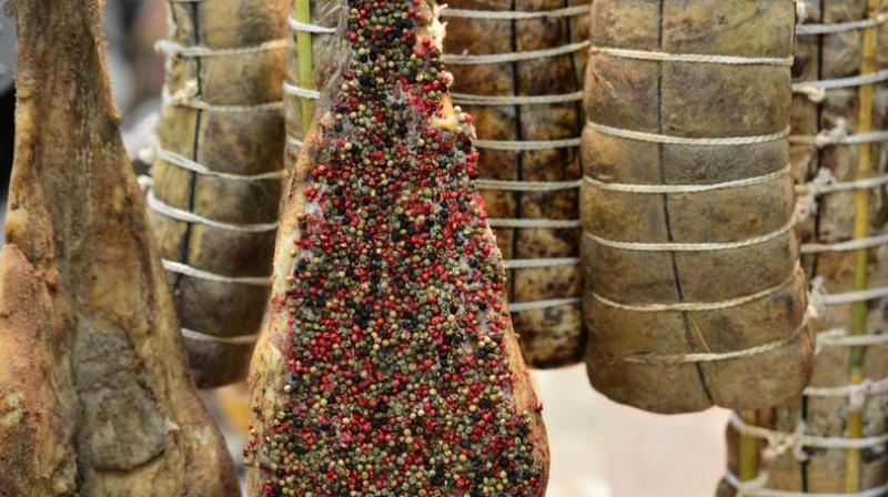 Cured meat intake, a typical food in industrialized societies, has been associated with many chronic diseases (Photo: AFP)
