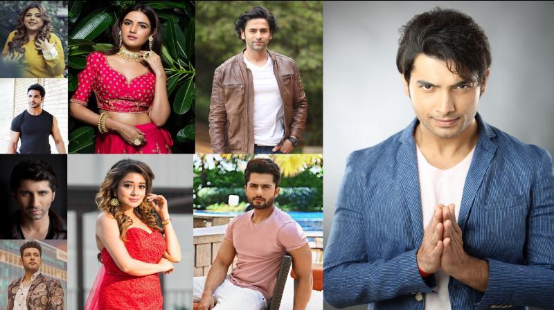 Indian TV actors.