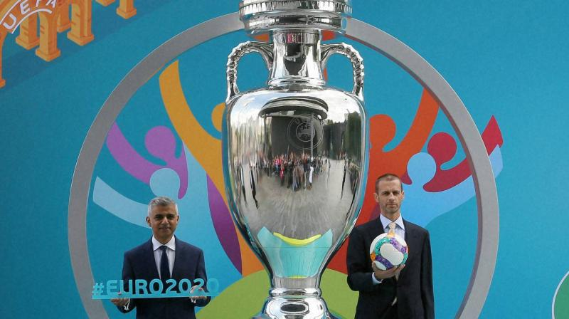 Tickets will be sold on euro2020.com/tickets in the month-long first phase of sales beginning June 12, where 1.5 million tickets will be made available to the public. (Photo: AP/PTI)