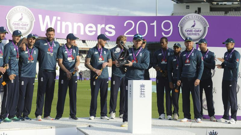 The tourists fought bravely after the setback but were eventually dismissed for 297 in 46.5 overs for their 10th consecutive ODI defeat in matches where a result was achieved. (Photo: AP/PTI)