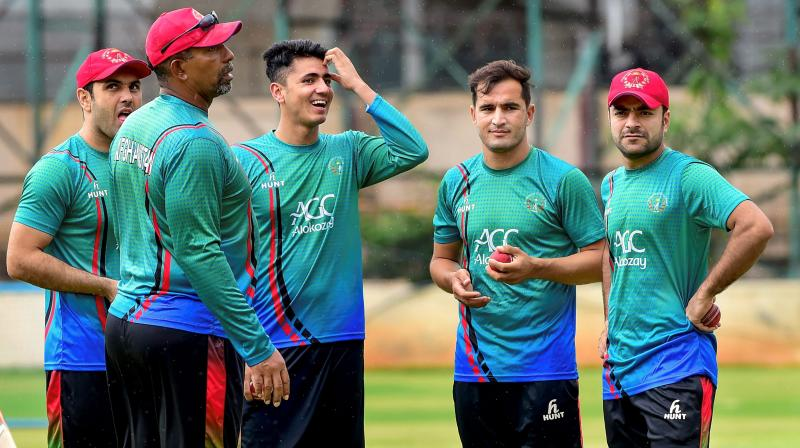 The former West Indies opener took the charge back in December 2017 and said that he helped ACB in achieving their goal of qualifying for the premier tournament. (Photo: AP/PTI)
