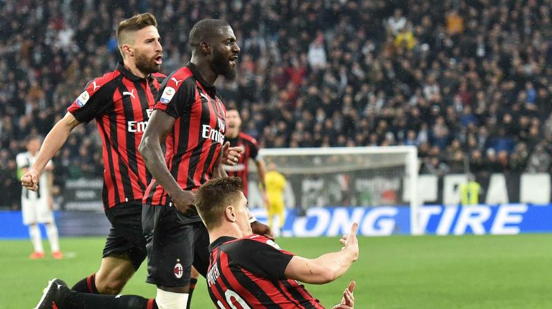 Gennaro Gattuso's side are level with Atalanta on 65 points but occupy fourth place due to a superior head-to-head record, while they are one point behind rivals Inter Milan in third. (Photo: AP)