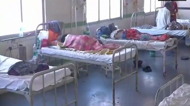 Swine flu has begun to raise its ugly head over Maharashtra, with the state already registering 11 deaths in June. (Photo: ANI)