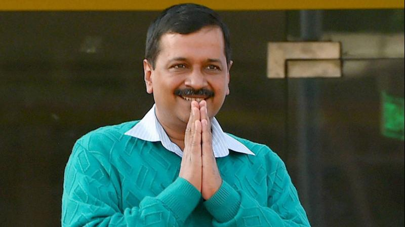 Delhi Chief Minister Arvind Kejriwal was speaking at Rajghat where DCW chief Swati Maliwal has been sitting on a hunger strike since Friday. (Photo: PTI)