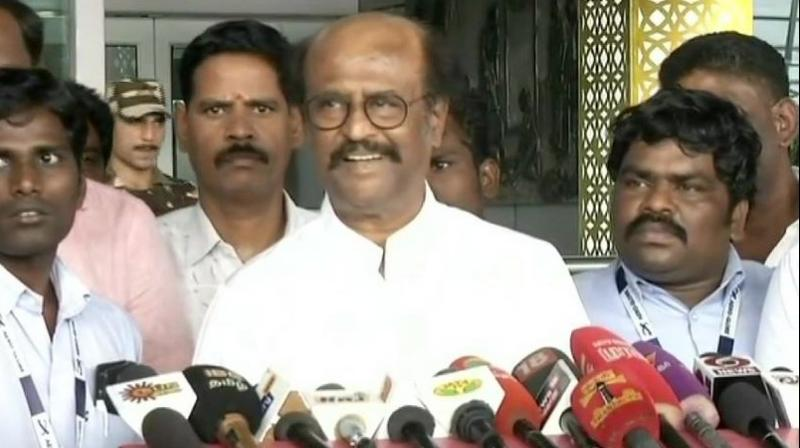 Actor-turned-politician Rajinikanth has come up with a new description of the two leaders – 'Master strategists' – meant to explain his earlier tag of 'Krishna-Arjun'. (Photo: File)