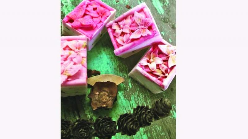 Customised soaps by Cape of Good Soaps