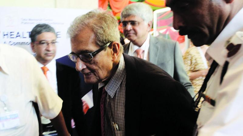 Nobel laureate Amartya Sen on Friday said that 'Jai Shri Ram' slogan is nowadays used 'to beat up people' across the country and has no association with Bengali culture. (Photo: File)