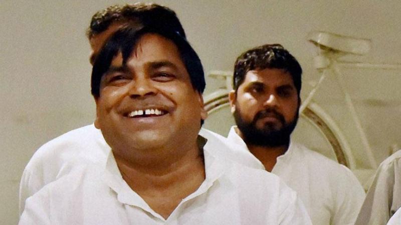 Former Uttar Pradesh minister Gayatri Prajapati. (Photo: File/PTI)