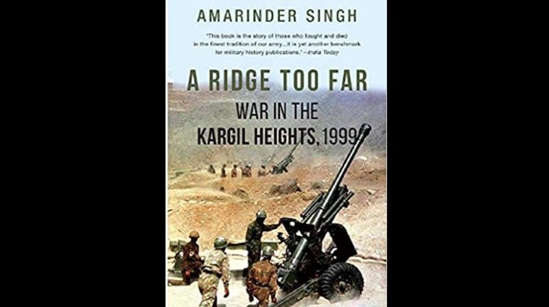 Cover page of A Ridge Too Far: War In The Kargil Heights 1999