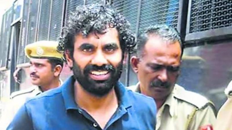 The meeting was held to demand a CBI probe into gangster Anandpal Singh's police encounter which took place on June 24 in Churu district. (Photo: Facebook)