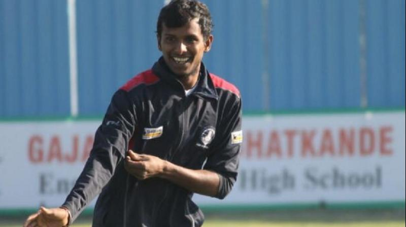 Kings XI Punjab bought uncapped bowler T Natarajan for Rs 3 crore in the IPL 2017 player's auction. (Photo: T Natarajan)