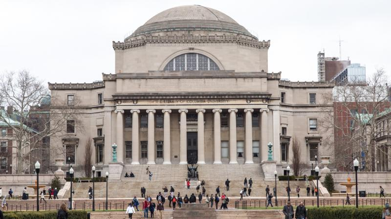A lawyer representing students in more than a dozen cases says colleges themselves often charge lower rates for online classes, which he says is a reflection of their value. (Photo of Columbia University Library | Publicdomainpictures.net)