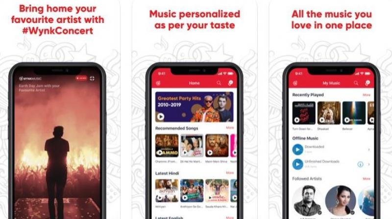 With music recordings coming to a complete standstill due to the coronavirus-induced lockdown, Wynk Music's online concerts are aimed at offering artists the opportunity to connect digitally with fans and even share fresh content in a live environment.