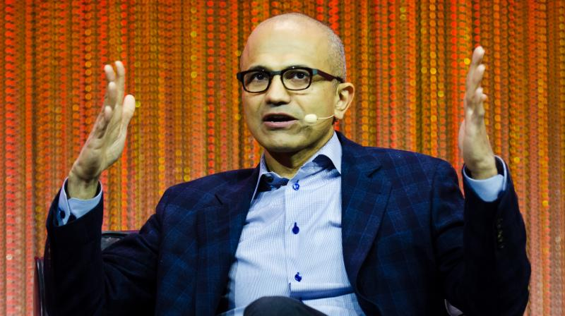 """I stand with the Black and African American community and we are committed to building on this work in our company and in our communities,"" Nadella said"