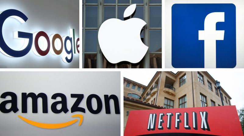 US tech giants like Google, Apple, Facebook, Amazon and Netflix are being singled out, says the US Trade Representative office.