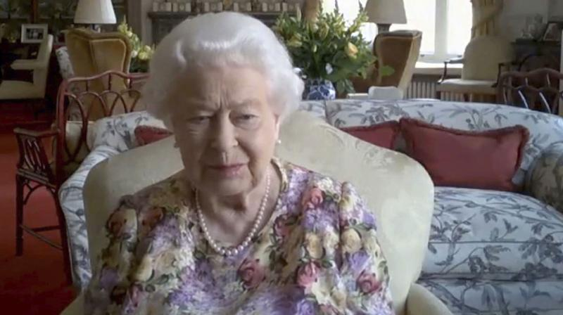 The queen has always shown an interest in new technology. She sent her first email long before most people, from a computer at a British Army base in 1976. A screengrab taken from a video handout released by Buckingham Palace on June 11, 2020 shows Britain's Queen Elizabeth II during a Zoom video conference call with carers. (Photo | AP)