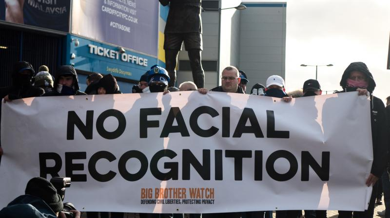 A Black man who says he was unjustly arrested because facial recognition technology mistakenly identified him as a suspected shoplifter is calling for a public apology from Detroit police, and for the department to abandon its use of the controversial technology. Several cities, led by San Francisco last year, have banned the use of facial recognition. (Photo | bigbrotherwatch.org.uk)
