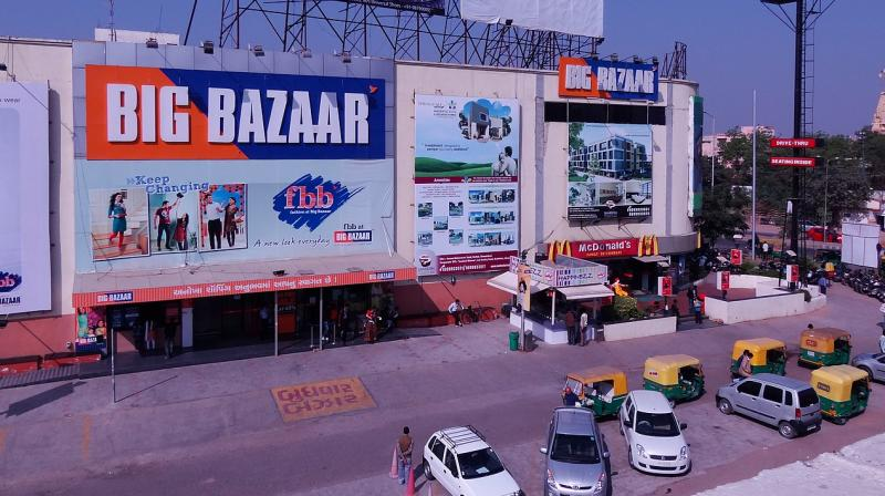 Big Bazaar has seen a jump in orders for home delivery through bigbazaar.com, Whatsapp ordering and ordering through phone. (Photo | Wikipedia)
